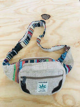 Load image into Gallery viewer, Handmade Hemp Money Fannypack