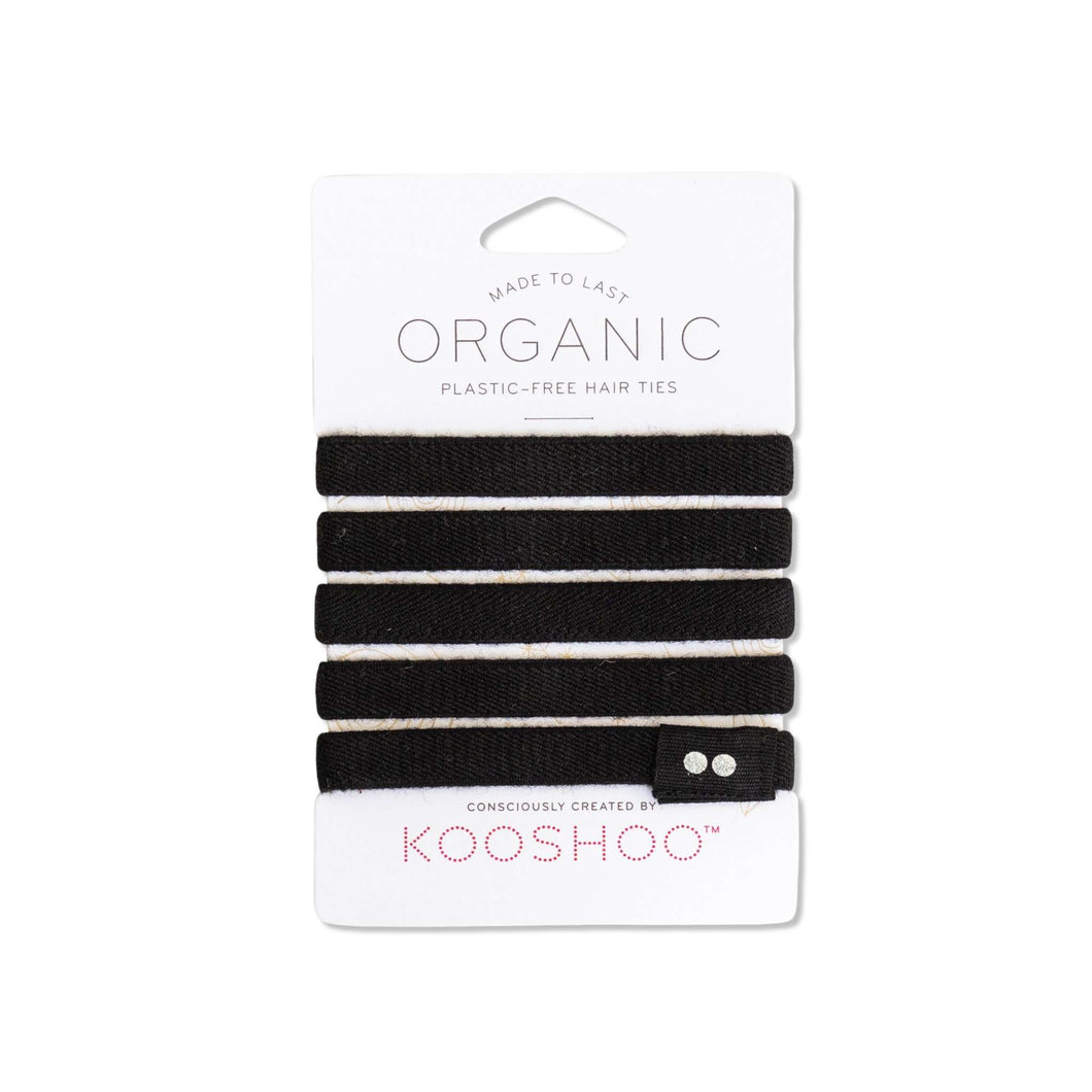 Plastic-Free Organic Hair Ties - Shop Salvos