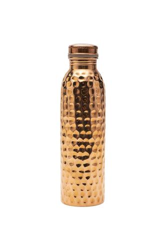 Pure Copper Water Bottle (Handmade)