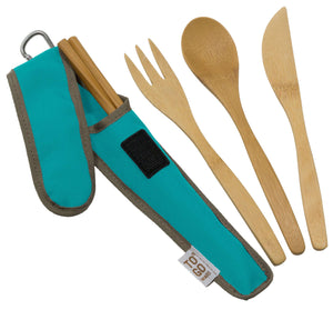 To-Go Ware Reusable Bamboo Utensil Set - Shop Salvos