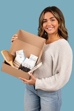 Load image into Gallery viewer, Salvos Hair Care Kit - Girl Holding Eco Friendly Kit