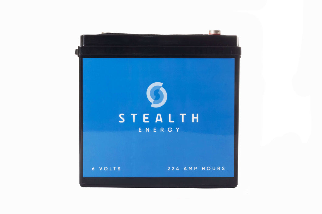 Stealth Energy 2240 Deep Cycle Solar Battery - Shop Salvos