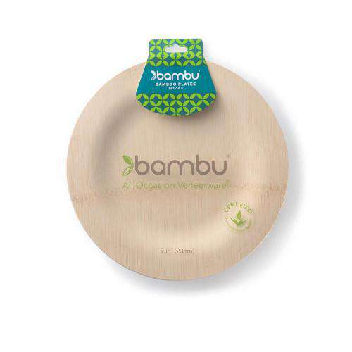 Bamboo Disposable Plates