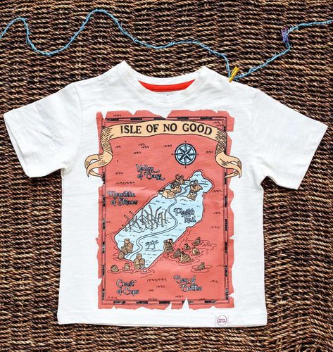 Kat•tu•ma•rum: Isle of No Good Tee (Certified Fair Trade & Organic) - Shop Salvos