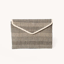 Load image into Gallery viewer, Dobi Jute Clutch Black
