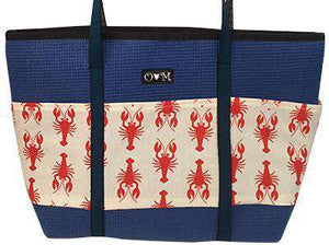 Molly Blue Lobster Tote Bag