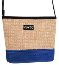 Load image into Gallery viewer, Royal Blue Jute Purse (Handmade)
