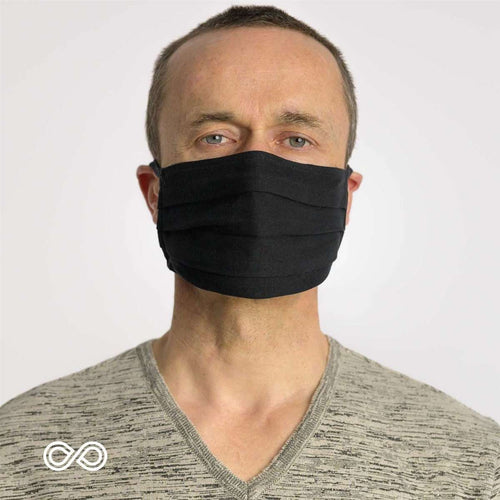 100% Organic Cotton Face Mask - Shop Salvos