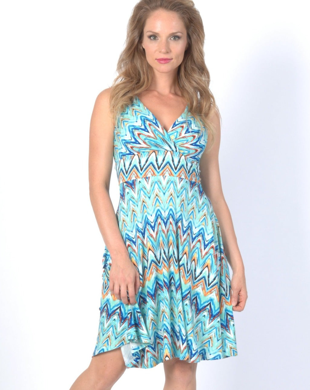 Zig Zag Swing Dress