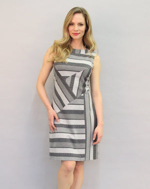 HAMILTON Sleeveless Shift Dress