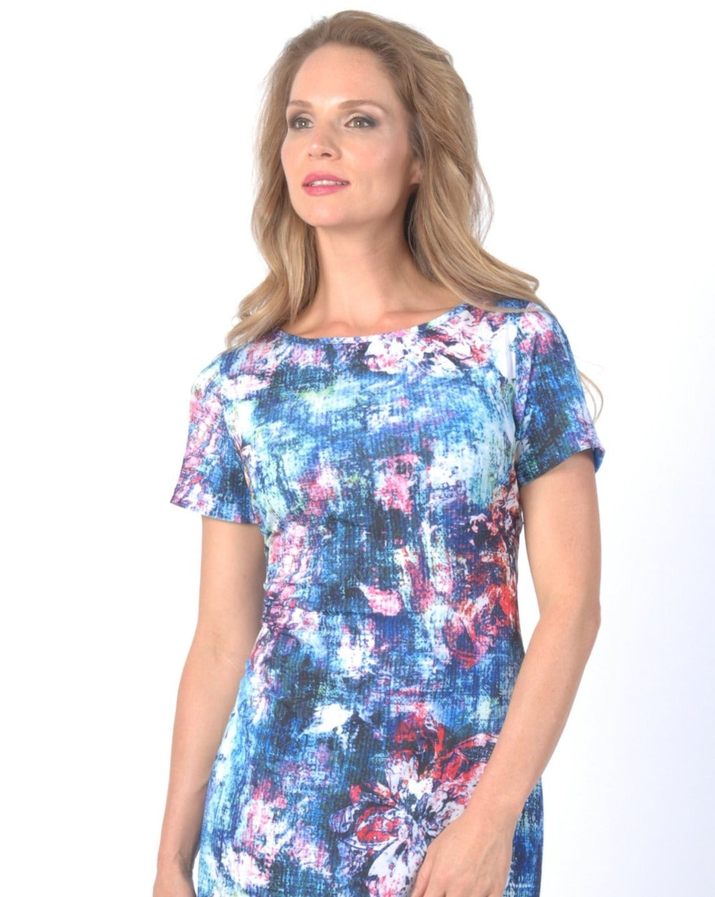 BLUE OASIS  T Dress - Final Sale