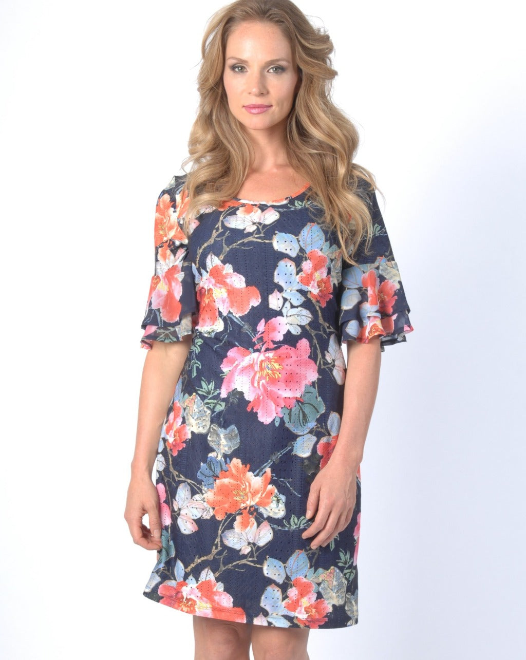 FLORA Shift Dress