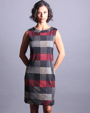 BONNIE Sleeveless  Shift Dress