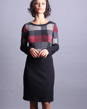 BONNIE Color Block Shift Dress
