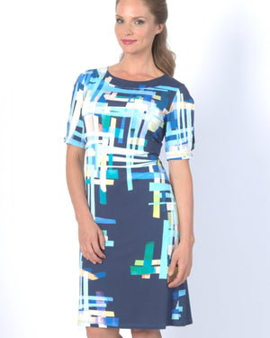 MODERN Shift Dress Elbow Sleeve