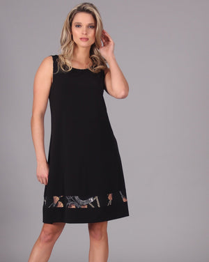 LADY LUCK  Reversible Aline Dress Sleeveless