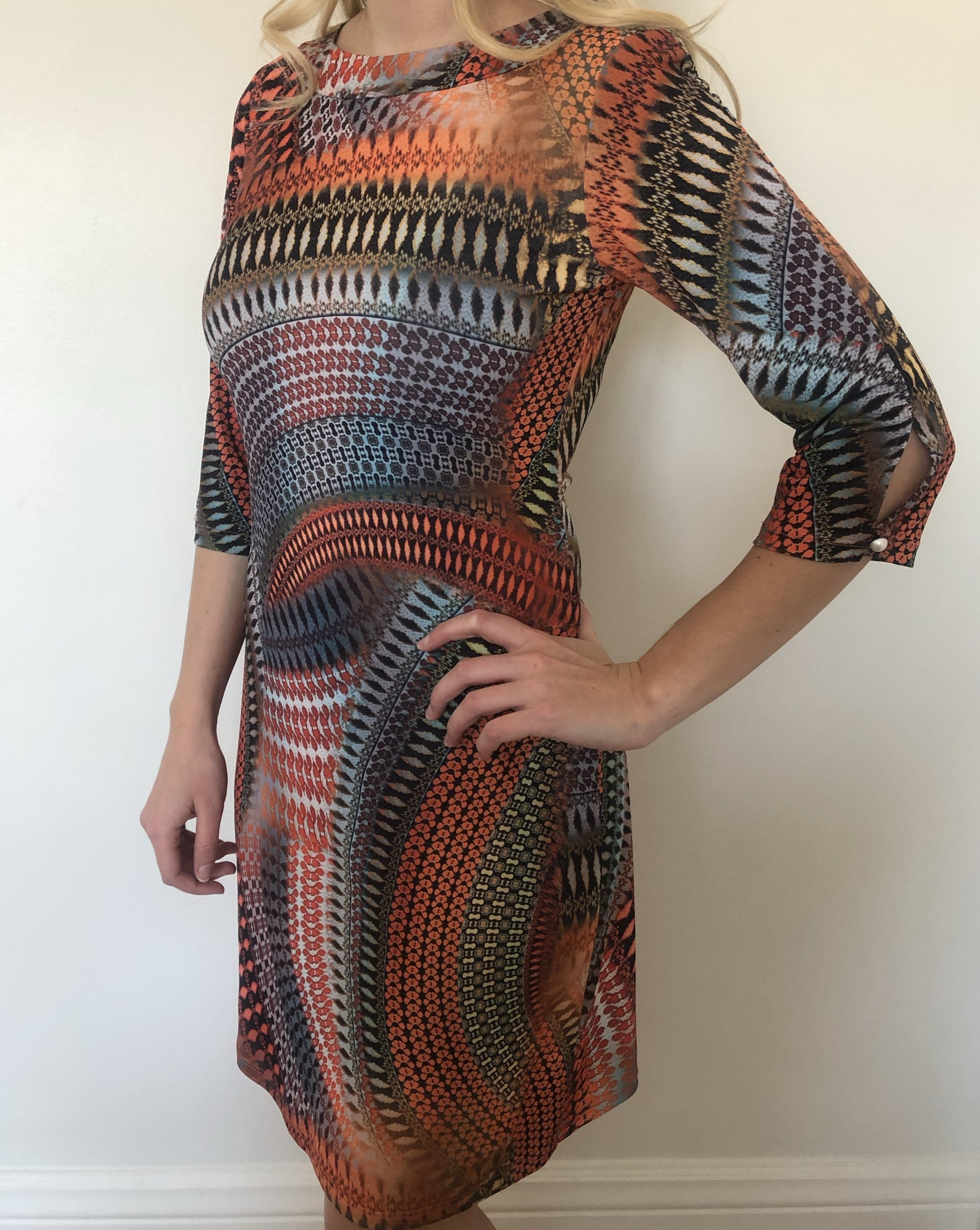 BOREAL Shift Dress