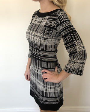 BRIANNA REVERSIBLE Shift Dress