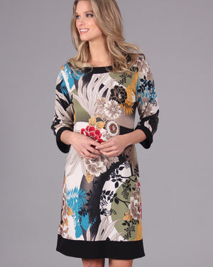 FLORAL RHAPSODY Reversible Dress