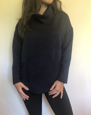 PAMELA  long sleeve loose top