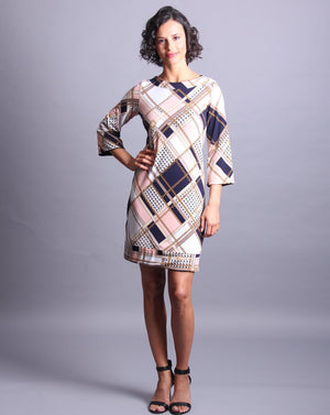 ATHENA REVERSIBLE Shift Dress
