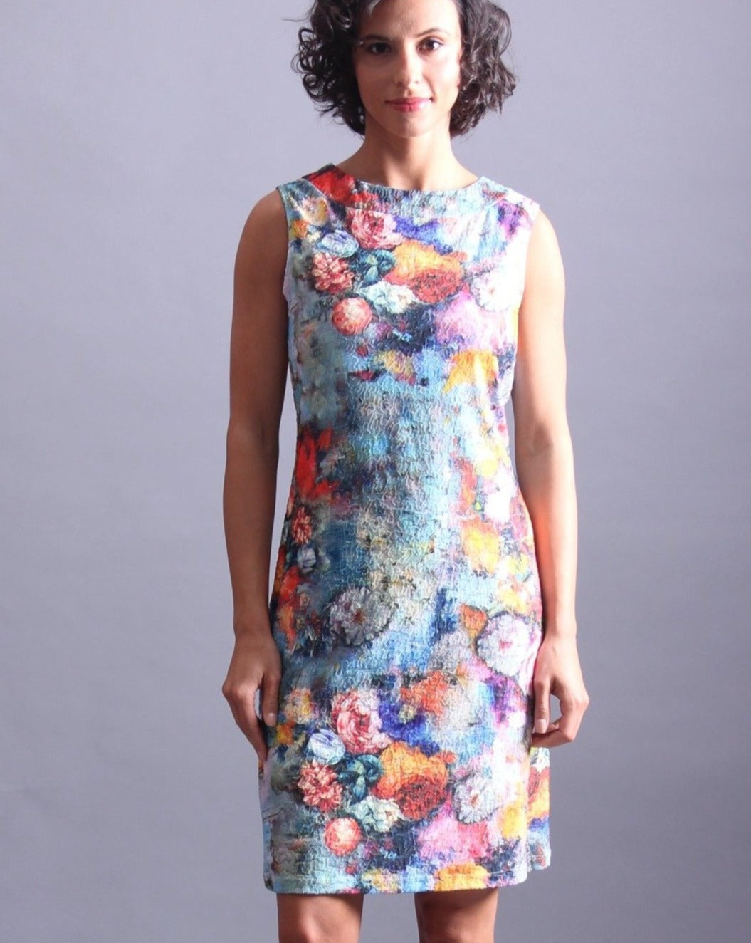 AURA  Shift Dress Sleeveless