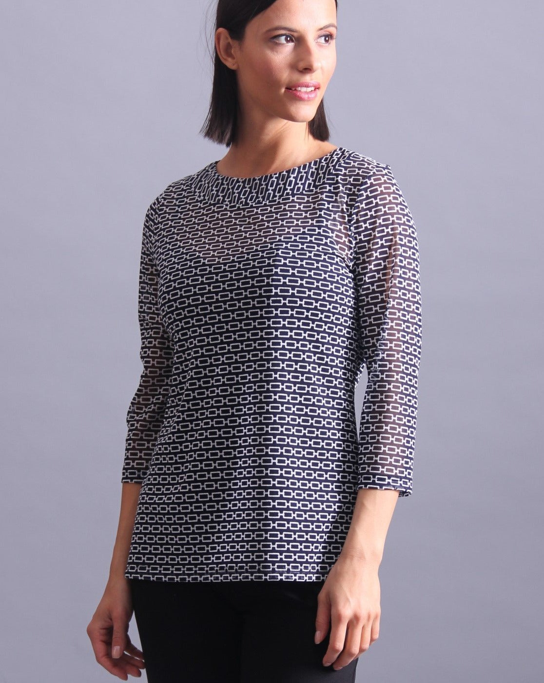 Hermes Top 3/4 sleeve - Second Skin
