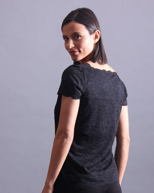 DENTELLE Lace T-Shirt