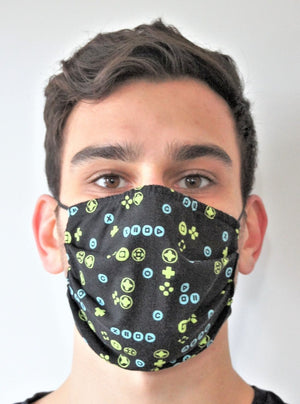 BUTTONS Face Mask Reversible