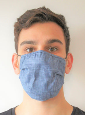 INDIGO Face Mask Reversible
