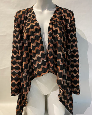 COPPER WAVE Cardigan