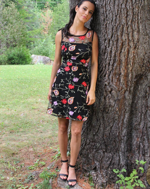 SAVANNA fit and flare dress