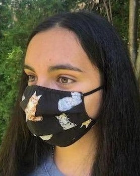 XS - KITTY Face Mask Reversible