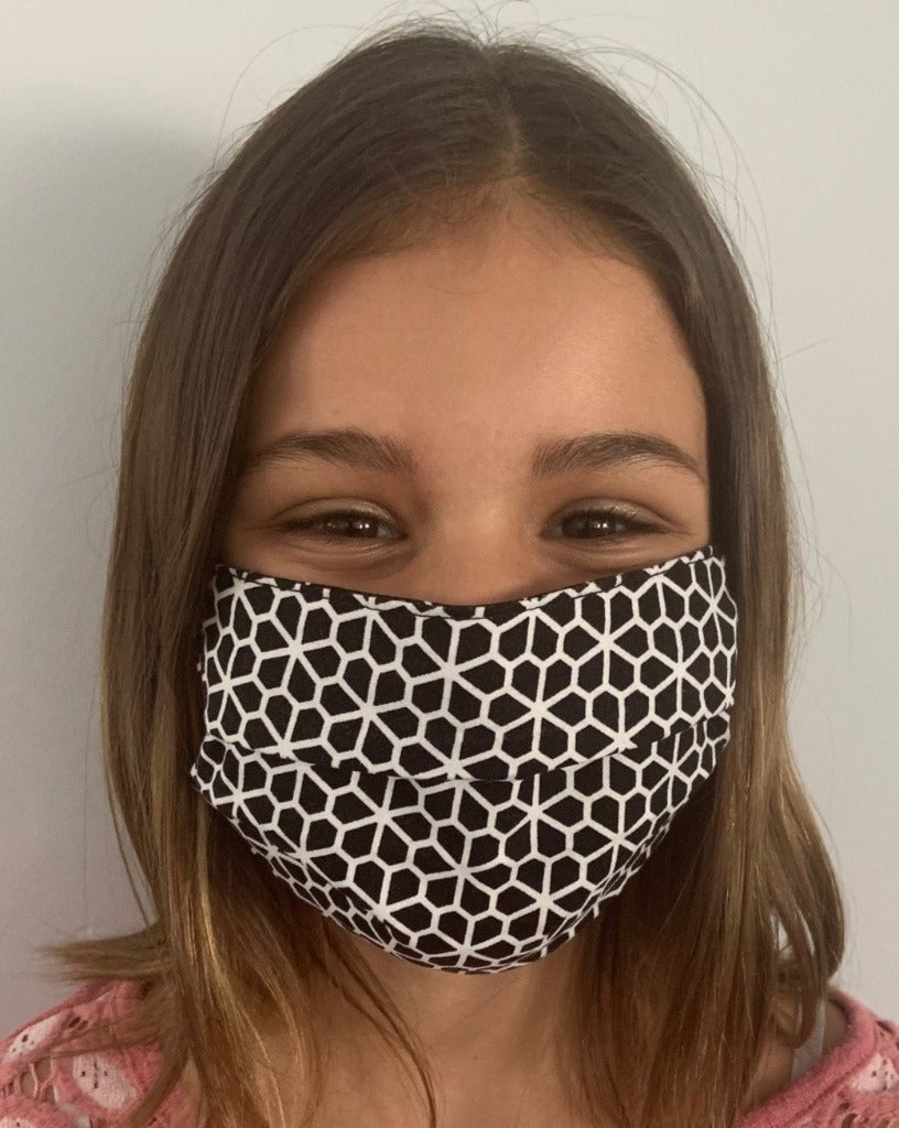 XS - HONEYCOMB Face Mask Reversible