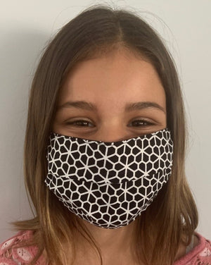 XS - HONEYCOMB Face Mask Reversible - NEW