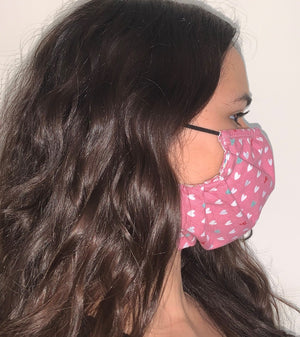HEARTS  Face Mask Reversible