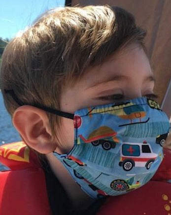 Kids - AROUND TOWN  Face Mask Reversible