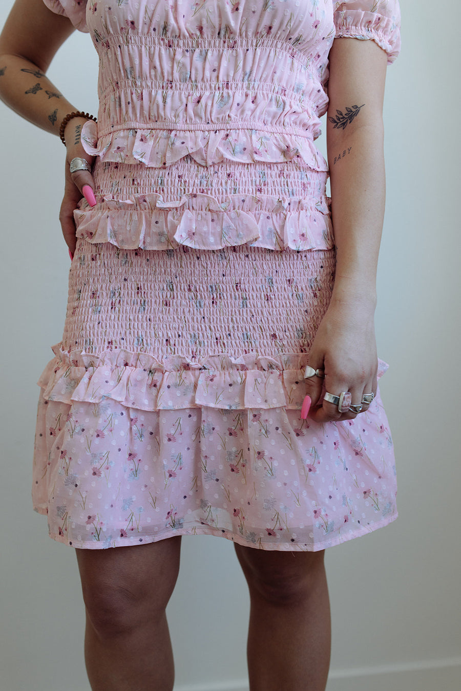 THE BABY PINK DRESS