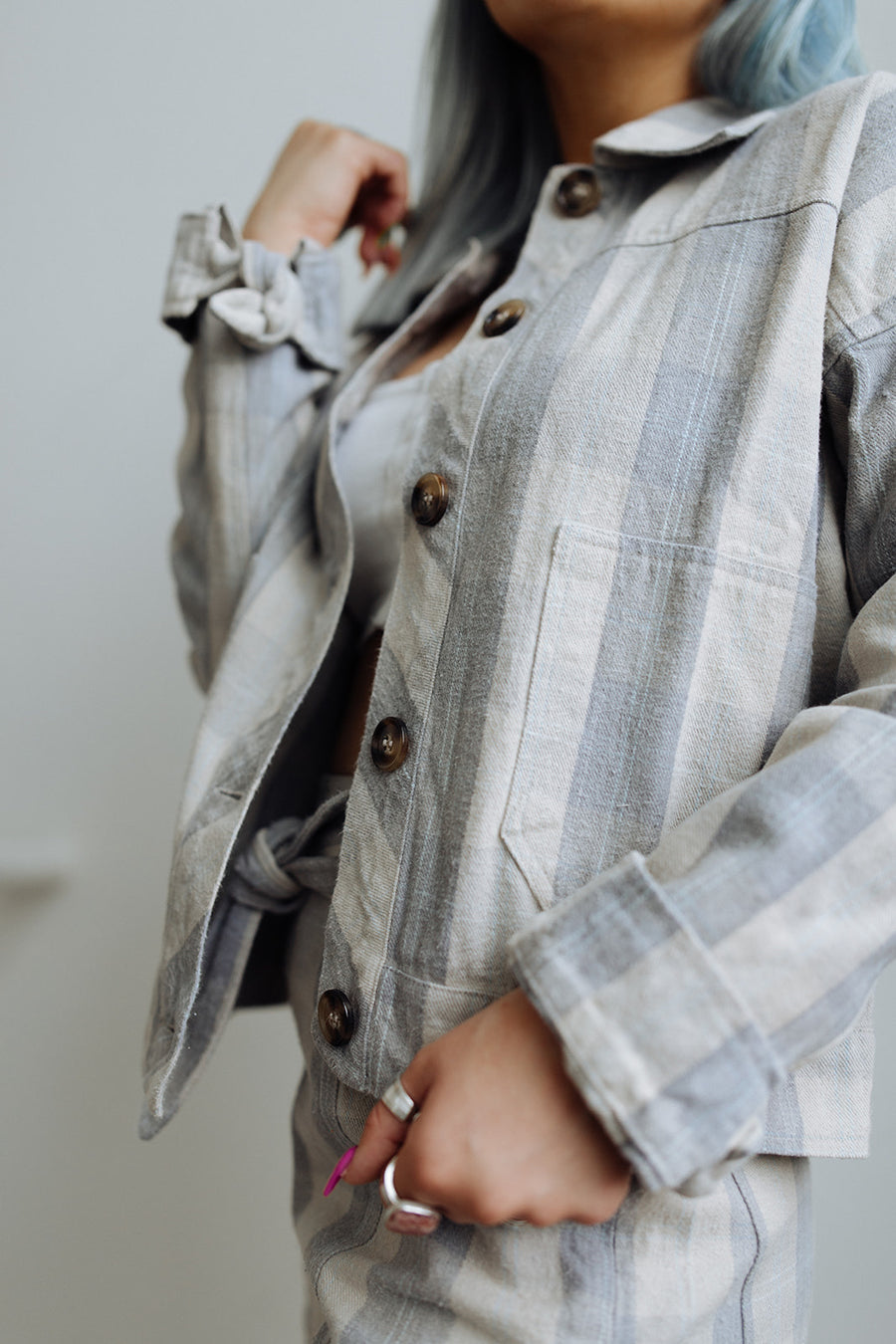 RAD PLAID JACKET