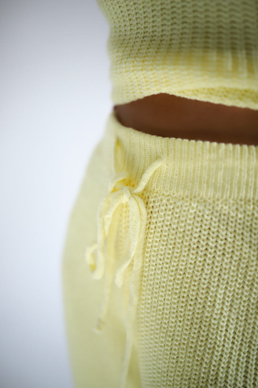LEMON KNIT JOGGER