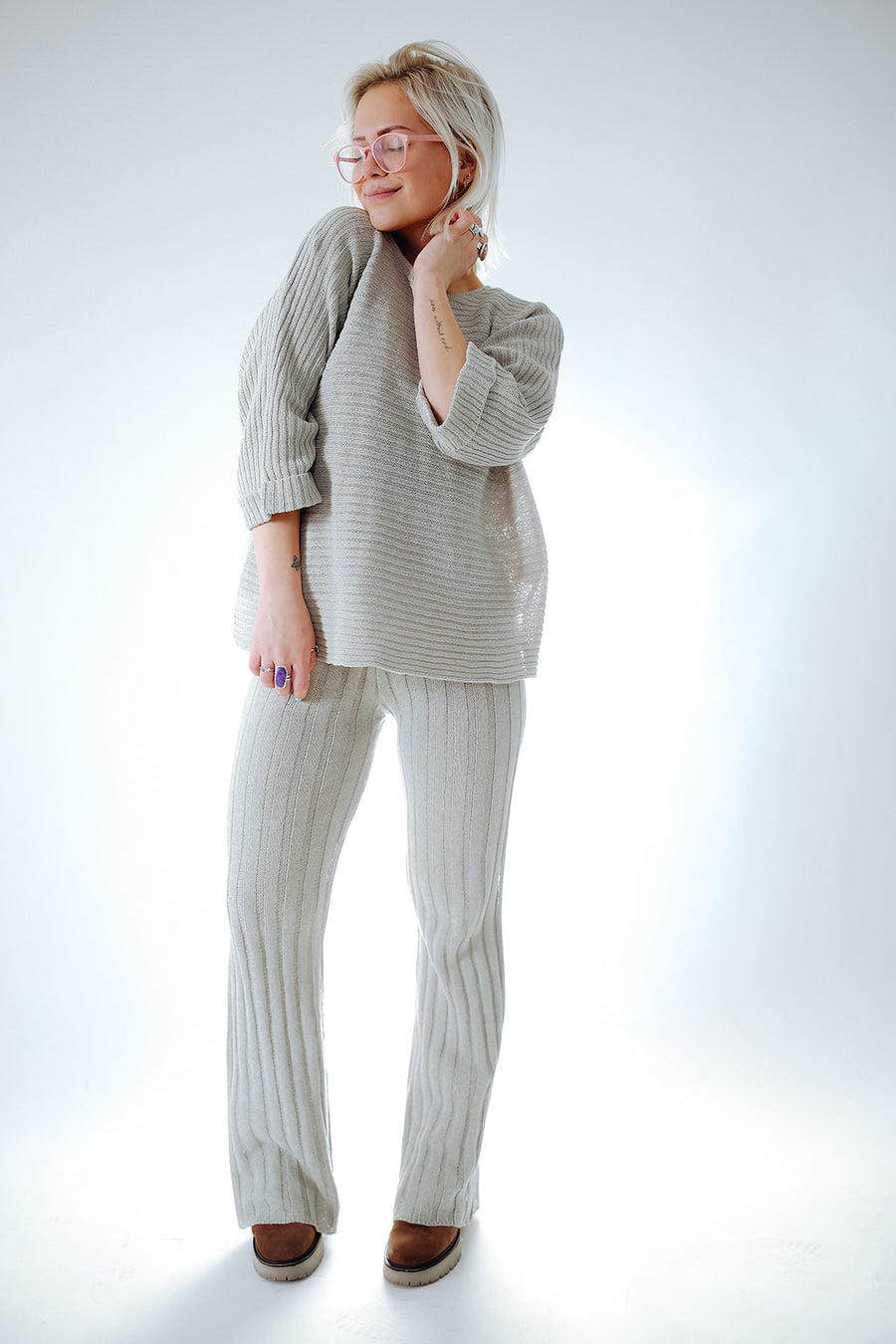 CORNELIA STREET KNIT SET (TOP)
