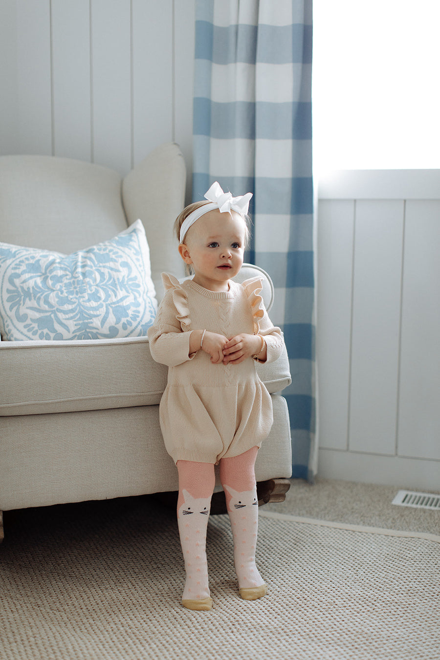 BABY PINK BUNNY TIGHTS