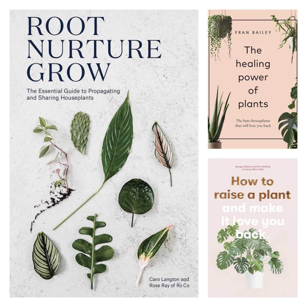 ENDED : Raffle Drawing - Enter for a Chance to Win a Plant Care Book Bundle ($60 Value). Open to US Residents Only