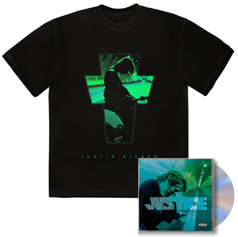 PACK JUSTICE CD COVER ALTERNATIVE I + TEE-SHIRT