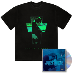 PACK JUSTICE CD COVER ALTERNATIVE III + TEE-SHIRT