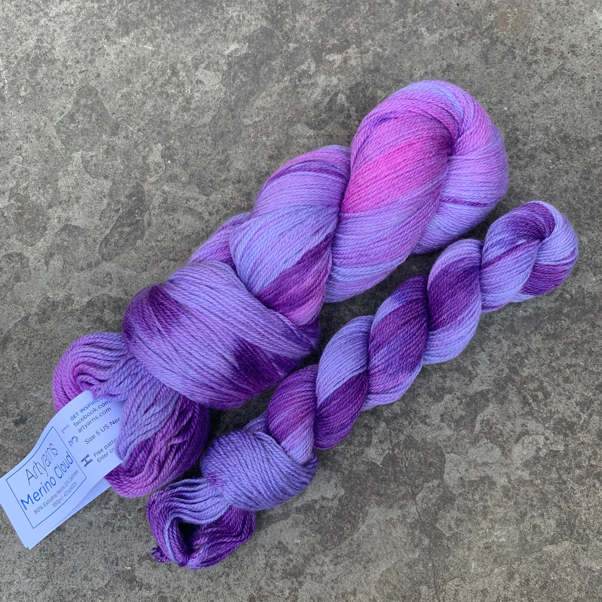 Artyarns Merino Cloud Purple Haze H31