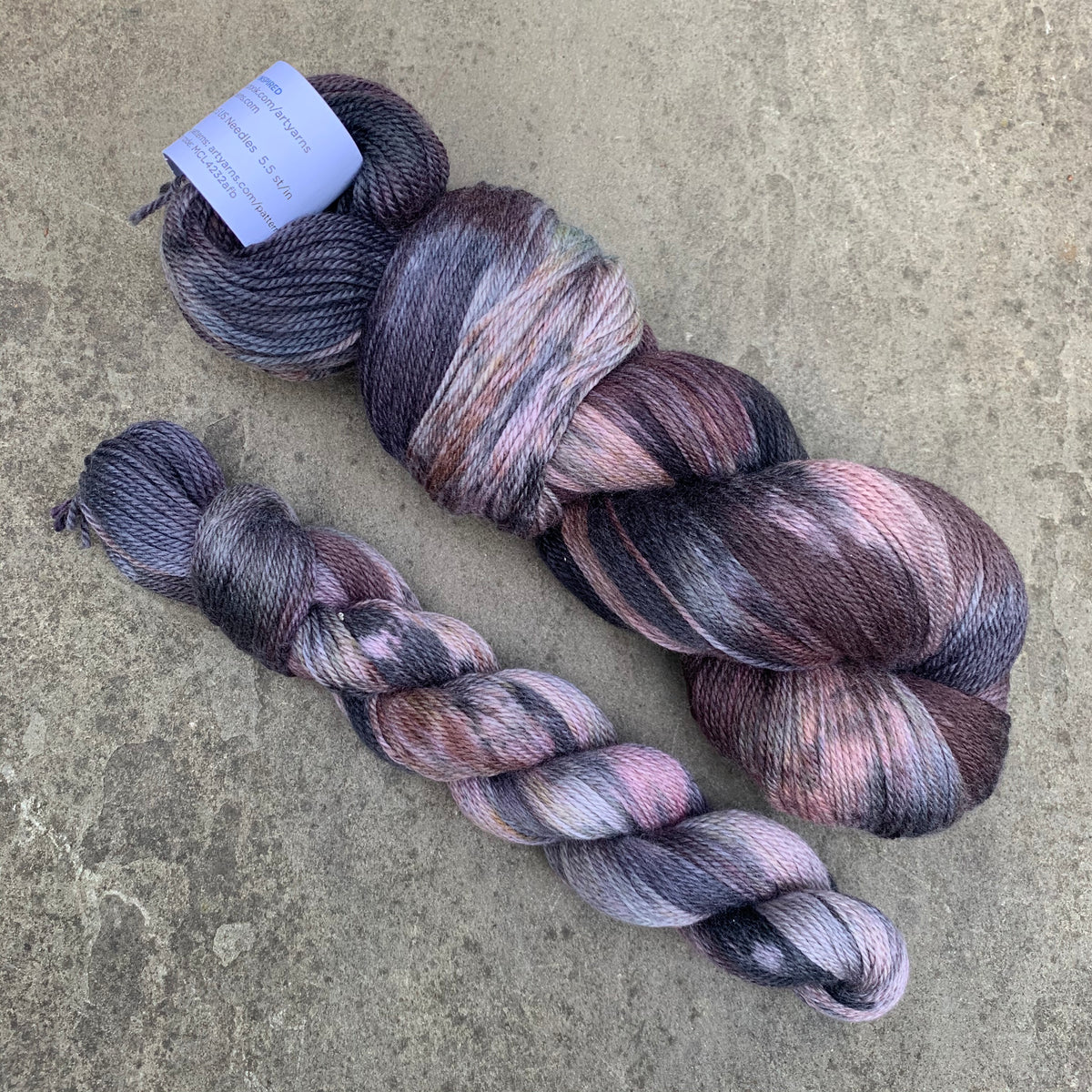 Artyarns Merino Cloud in Dark Calico 622
