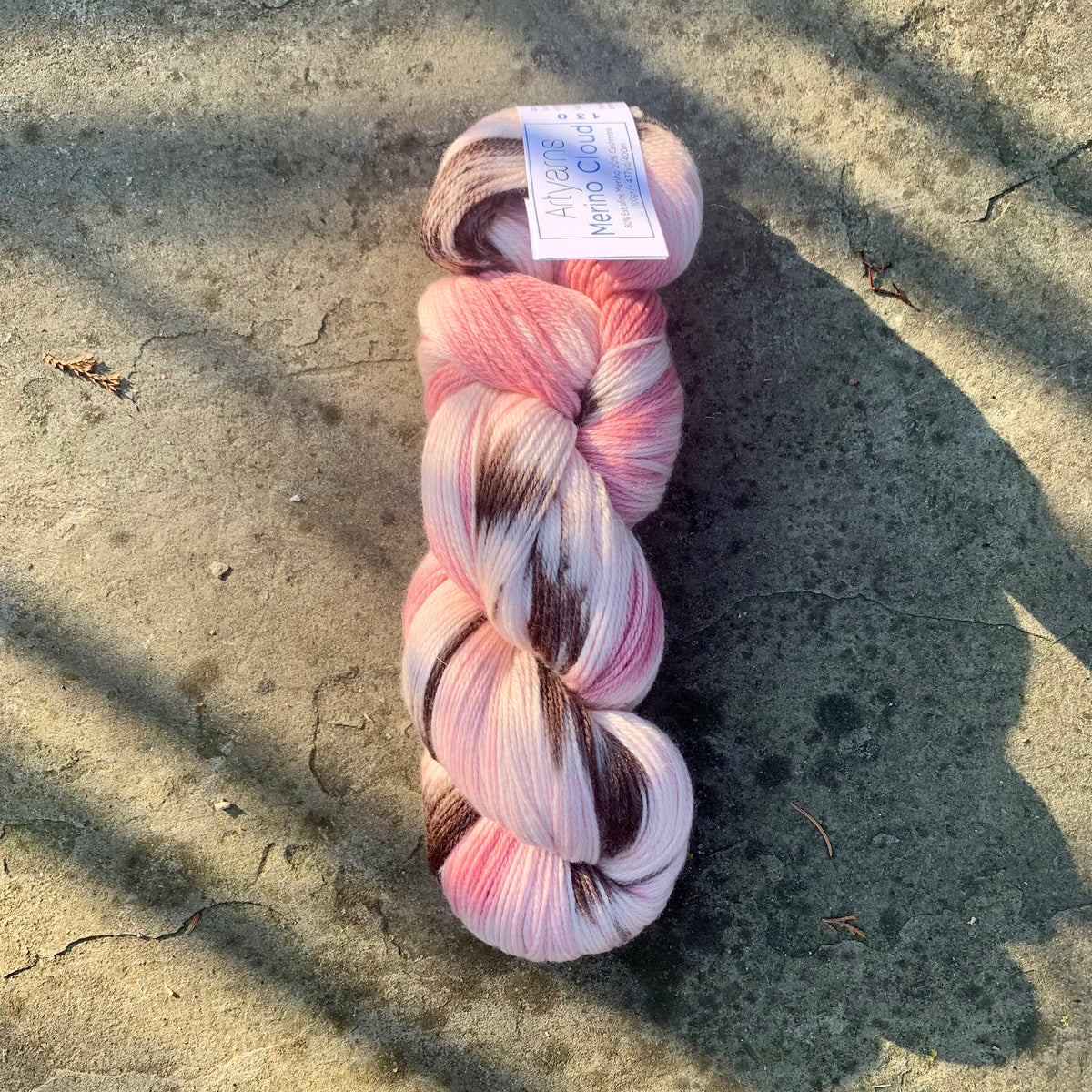 Artyarns Merino Cloud in HushPuppy Pink 130