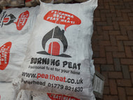 Burning Peat