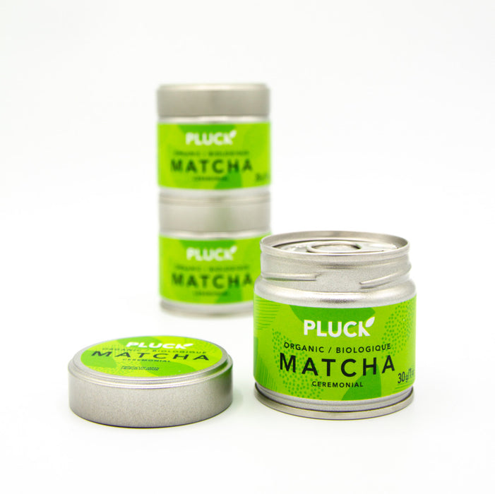 Premium Ceremonial Matcha Refillable Tin (Organic)